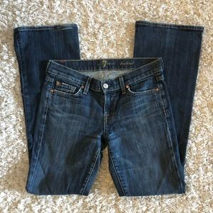 7 for All Mankind Women Jeans Bootcut Blue Size 26